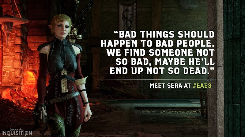 Dragon Age Inquisition Character Sera