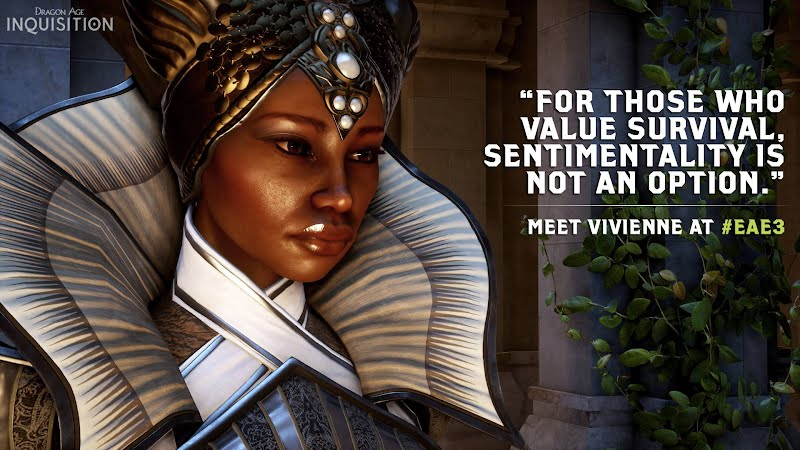 Dragon Age Inquisition Character Vivienne