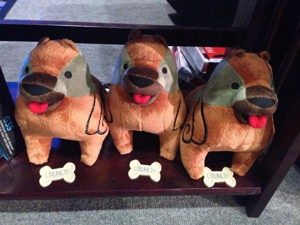 Dragon Age Inquisition PAX Prime Mabari Plushies for Cosplayers