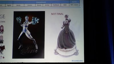 Dragon Age Product Panel Morrigan Figure not final