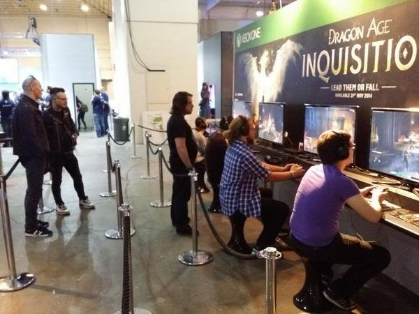Dragon Age Inquisition Multi-player at Eurogamer Expo London