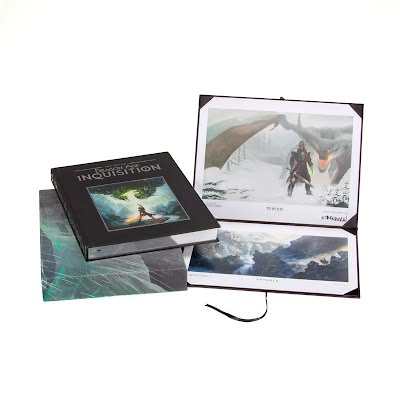 The Art of Dragon Age: Inquisition Limited Edition hardcover