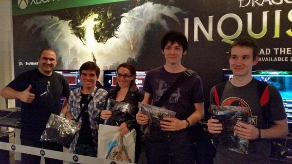 Dragon Age: Inquisition at EGX London first team to beat DAMP
