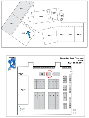 Bioware Dragon Age Inquisition Edmonton Expo Floor Map