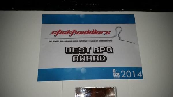 Dragon Age Inquisition Eurogamer Expo EGX London Best RPG Award