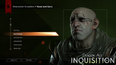 Dragon Age Inquisition Character Creator