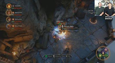 Dragon Age Inquisition Twitch Livestream Combat
