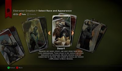 Dragon Age Inquisition Character Creator Male Tarot Cards