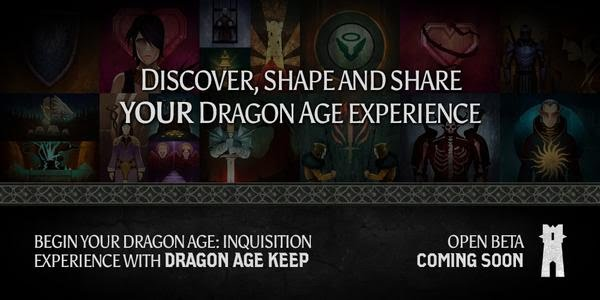 Dragon Age Keep Open Beta Coming Soon