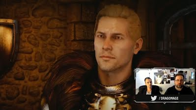 Dragon Age Inquisition Twitch Game Play Stream October 13 2014 Cullen
