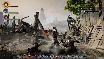 Dragon Age Inquisition PC UI Battle HUD