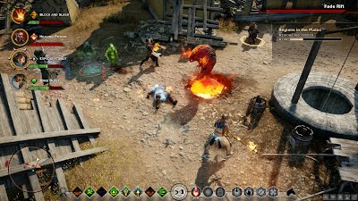Dragon Age Inquisition PC UI Tactical View