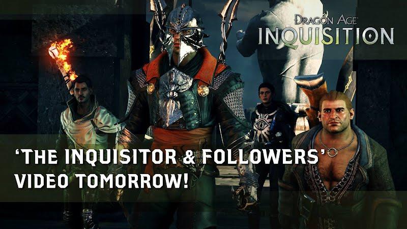Dragon Age Inquisition Inquisitor & Companions Video October 21, 2014