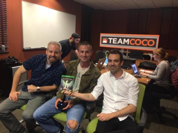 Dragon Age Inquisition Twitch Stream November 12 2014 with Freddie Prinze Jr Team Coco