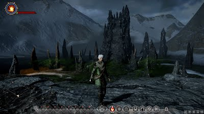 Dragon Age Inquisition Mage Stuck in Fade in beginning of game