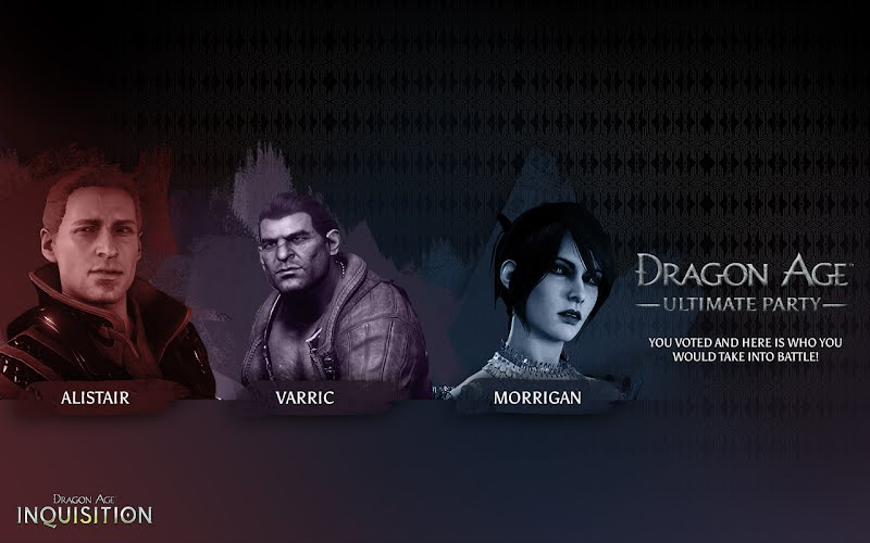 Dragon Age Ultimate Party Desktop Wallpaper