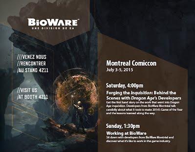 Bioware at Montreal Comiccon