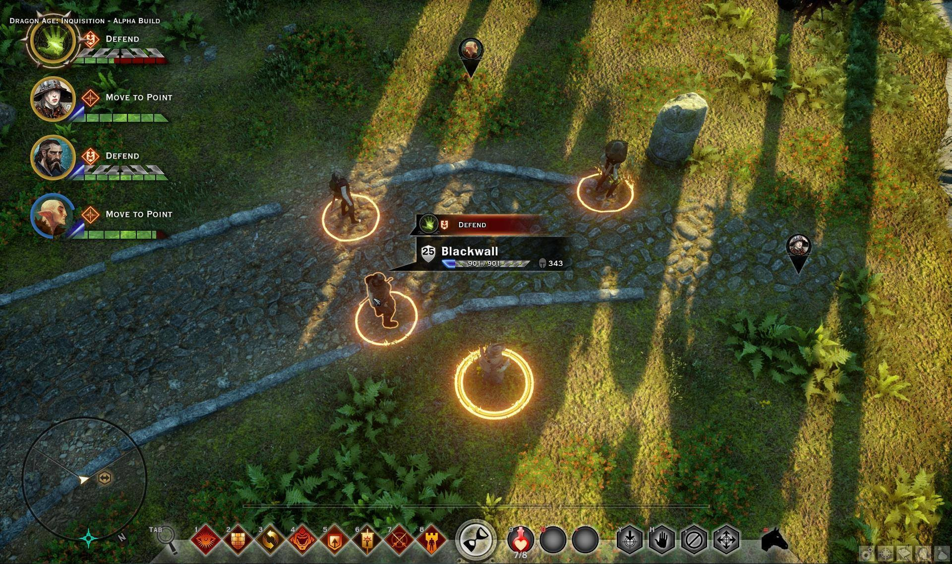Dragon Age Inquisition PC UI